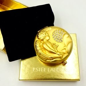 ESTEE LAUDER POWDER COMPACT NEW NOVEMBER ANGEL